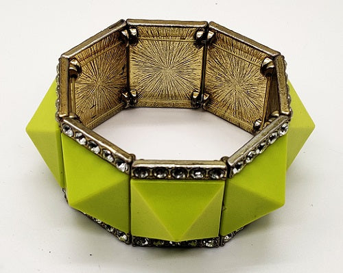 Stretchable Bracelet - Lime Green - CeCe Fashion Boutique