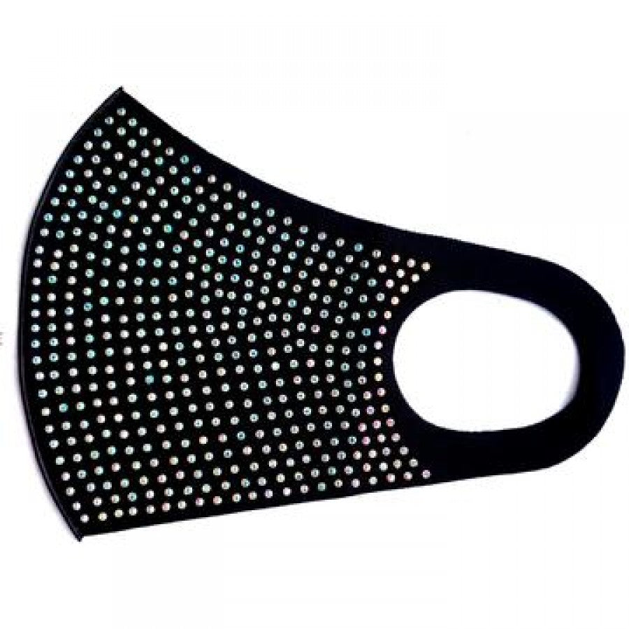 Reusable Mask with Stud (Black) - CeCe Fashion Boutique