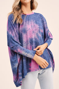 Moonlight Tie Dye Top - CeCe Fashion Boutique