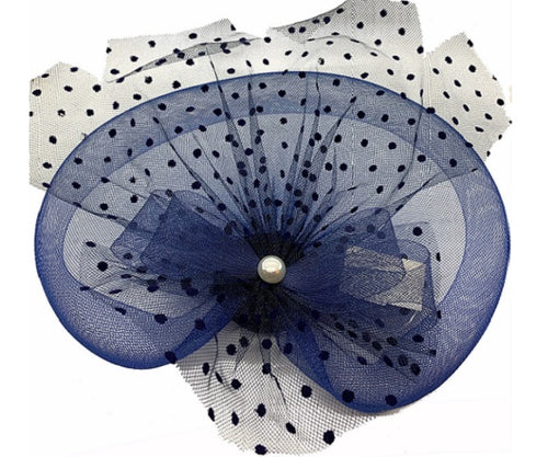 Fascinator - Navy - CeCe Fashion Boutique