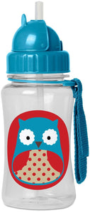 Skip Hop Kids Straw Bottle - Owl - CeCe Fashion Boutique