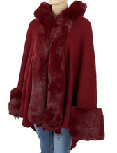 Load image into Gallery viewer, Faux Fur Shawl - Style E - CeCe Fashion Boutique