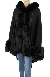 Faux Fur Shawl - Style E - CeCe Fashion Boutique