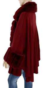 Faux Fur Shawl - Style A - CeCe Fashion Boutique