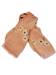 Lightweight Floral Scarf - Peach - CeCe Fashion Boutique