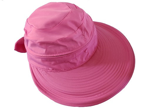 Water-Resistant Convertible Cap/Visor - CeCe Fashion Boutique