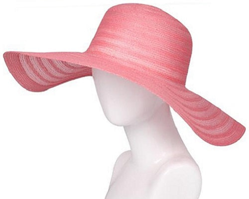 Woven Lightweight Hat - Pink - CeCe Fashion Boutique