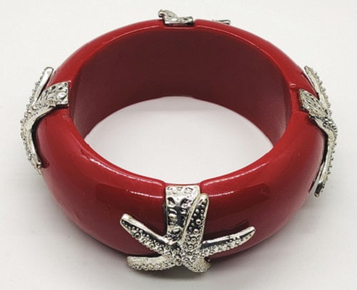 Bangle Bracelet - Burgundy - CeCe Fashion Boutique