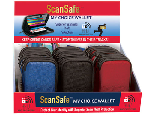 Scansafe Wallet - CeCe Fashion Boutique