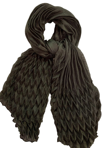 Lightweight Solid Scarf - Black - CeCe Fashion Boutique