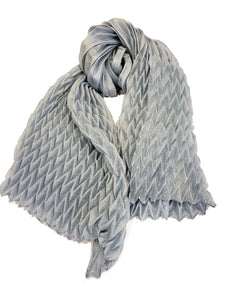 Lightweight Solid Scarf - Light Blue - CeCe Fashion Boutique
