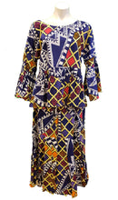 Load image into Gallery viewer, Cotton Top with Skirt and Headwrap - Style B - CeCe Fashion Boutique