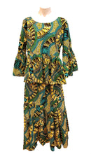 Load image into Gallery viewer, Cotton Top with Skirt and Headwrap - Style E - CeCe Fashion Boutique