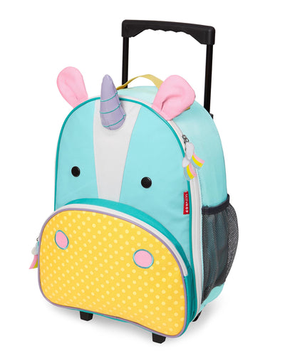 Skip Hop Zoo Kids Rolling Luggage - Unicorn - CeCe Fashion Boutique
