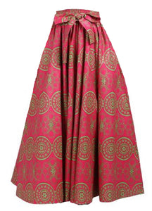Maxi Ankara Wax Cotton Skirt - Style IDZ - CeCe Fashion Boutique