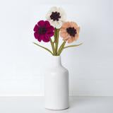 Load image into Gallery viewer, Anemone Felted Flower
