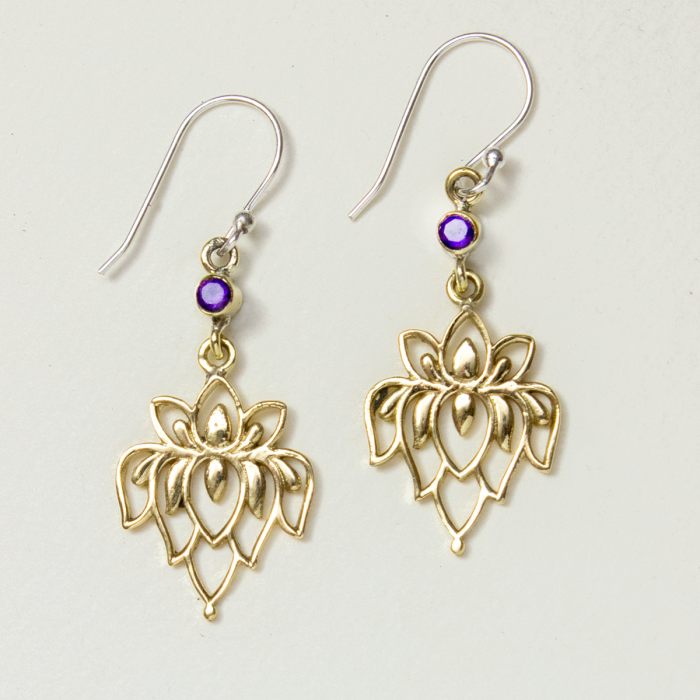 Lotus Intuition Earrings