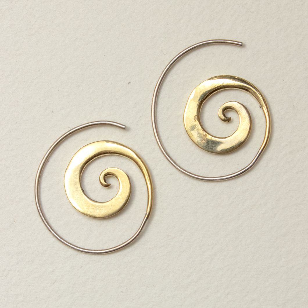 Helix Spiral Earrings