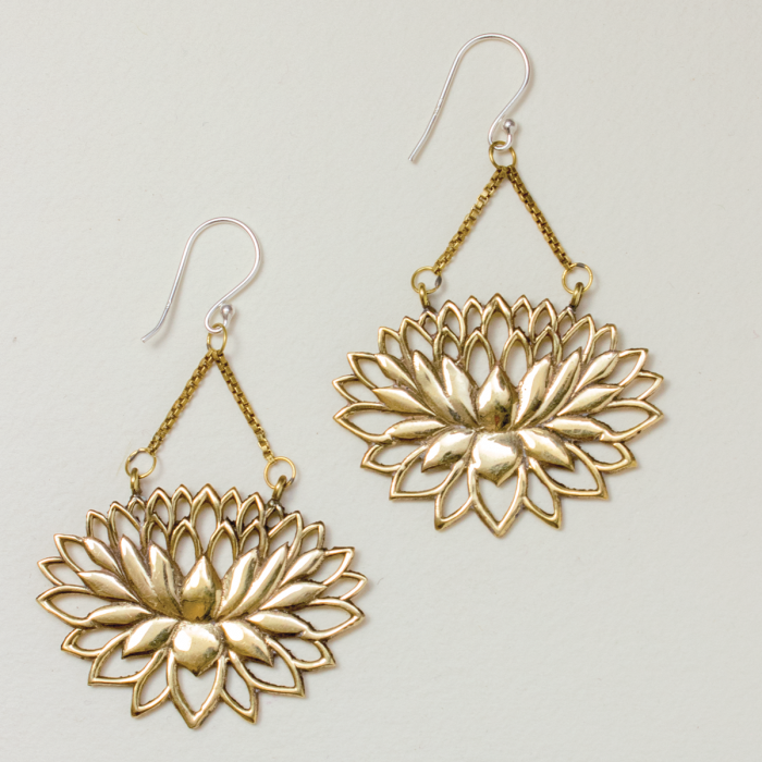 Eternal Lotus Earrings