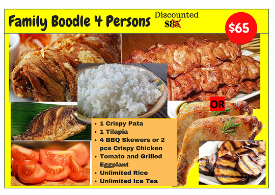 Boodle Family (4 Person Size)