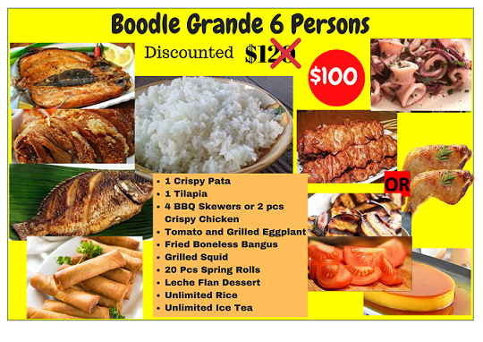 Boodle Grande (6 Person Size)