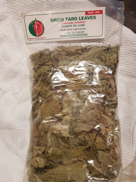 Dried Taro Leaves 114 g