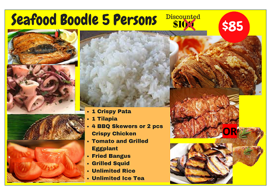 Boodle Seafood (5 Person Size)