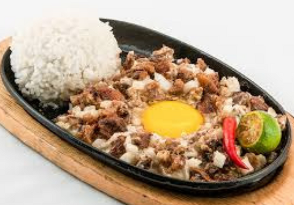 Sizzling Sisig Meal (Good for 1)
