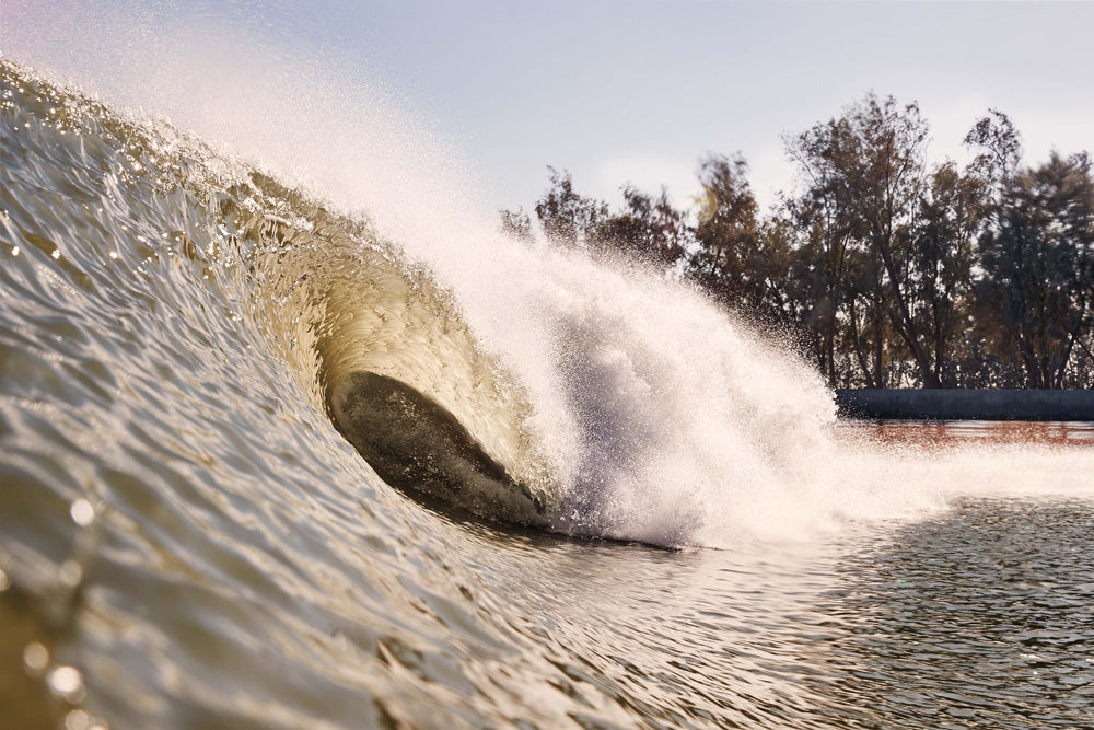 Tube Vision at The Surf Ranch by Steven Lippman