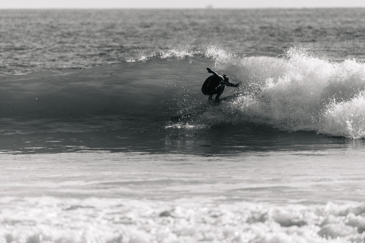 Jared Mell Backwards Barrel at Lowers Surf Relik