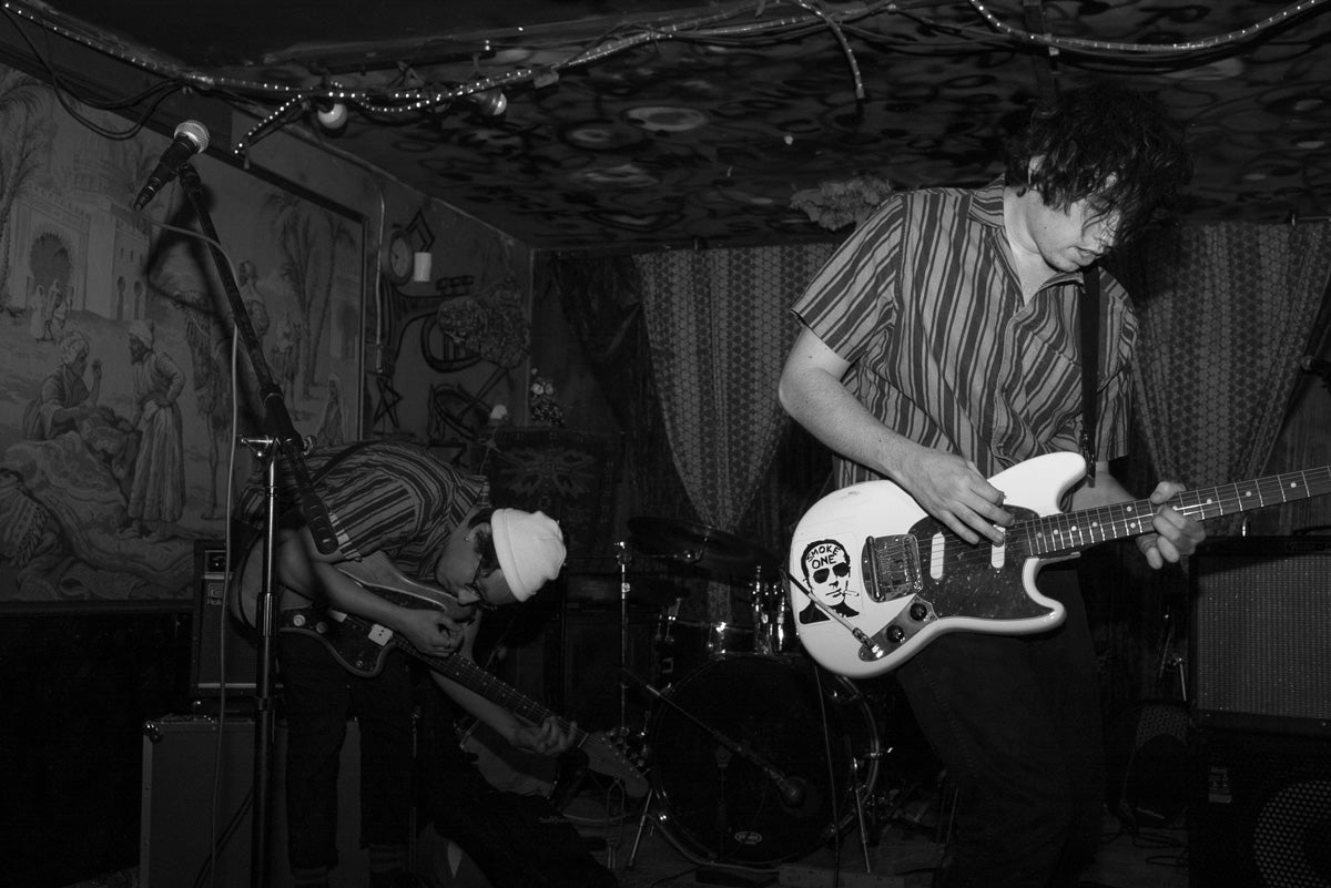 The Lulls performing live