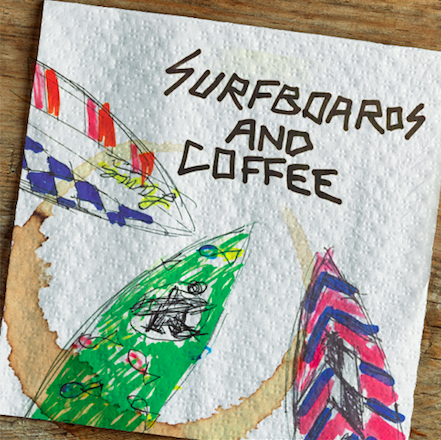 Surfboards & Coffee Echo Beach Flyer