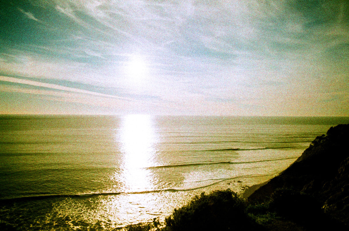 Empty horizon photo on expired film by Ryan Tatar