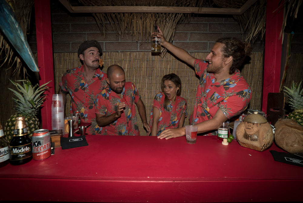 The Banks Journal Crew get freaky in the tiki