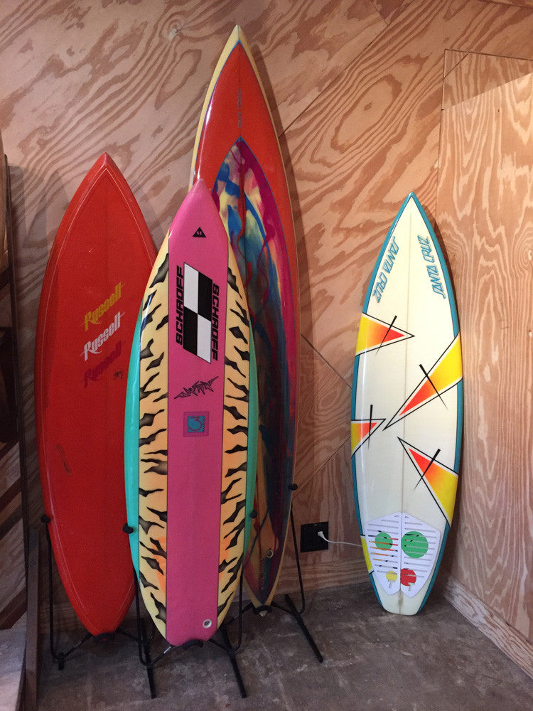Vintage 80s Echo Beach Surfboards at Banks Journal HQ