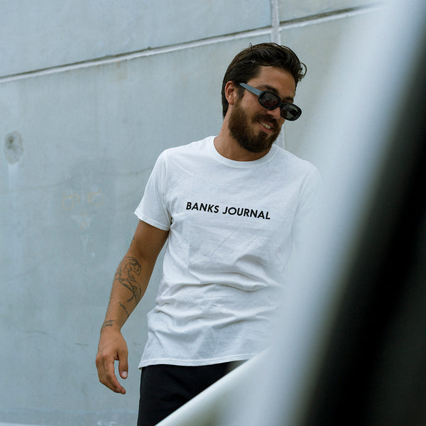 Mens Label Tee Shirt - BANKS JOURNAL Tee Shirt