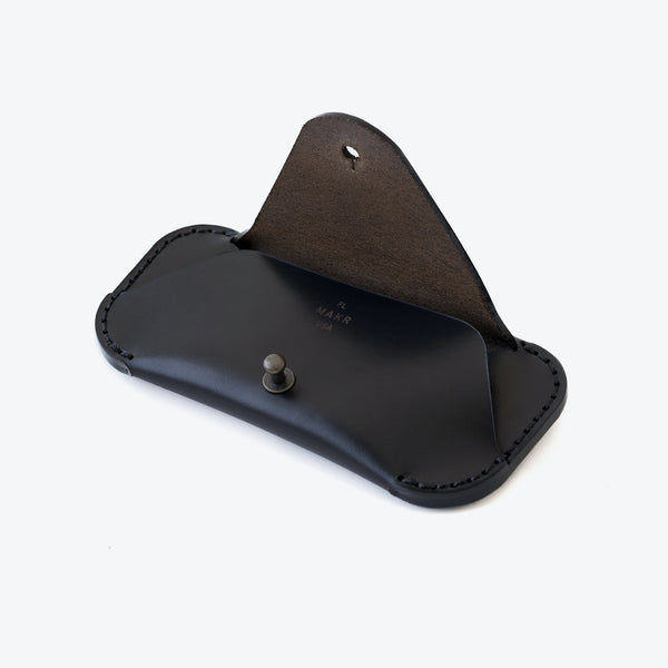 MAKR - Black Eyewear Sleeve Leather Goods
