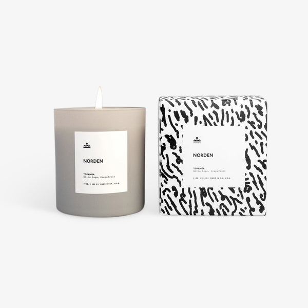Norden - Topanga 9 oz. Glass Candle Candle