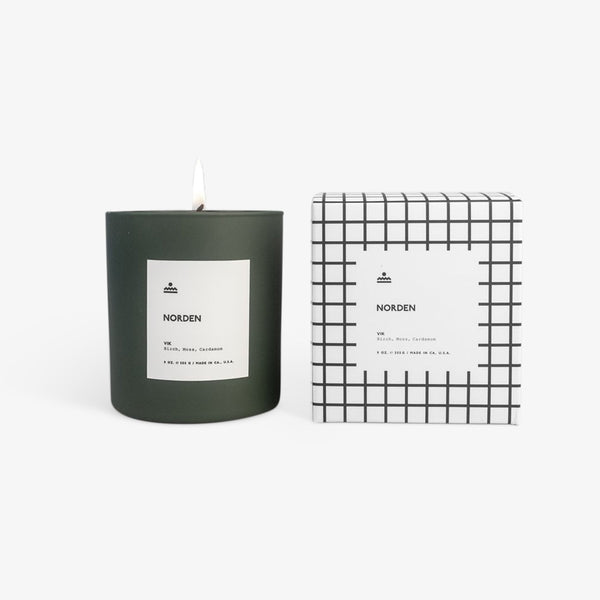 Norden - Vik 9 oz. Glass Candle Candle