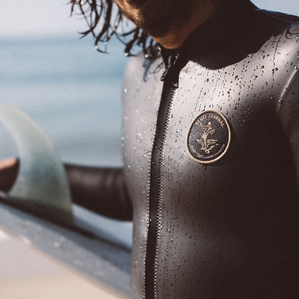 Mens Jared Mell Front Zip Jacket Wetsuit - BANKS JOURNAL Wetsuit