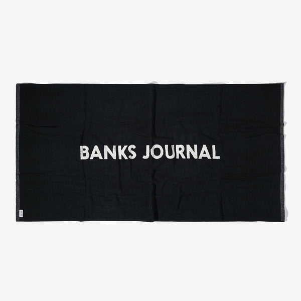 Mens Label Towel - BANKS JOURNAL Towel