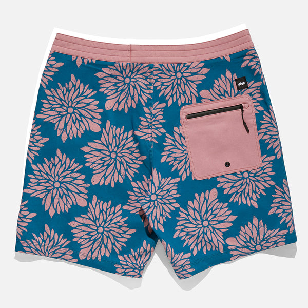 Mens Daisy Chain Boardshort - BANKS JOURNAL sale