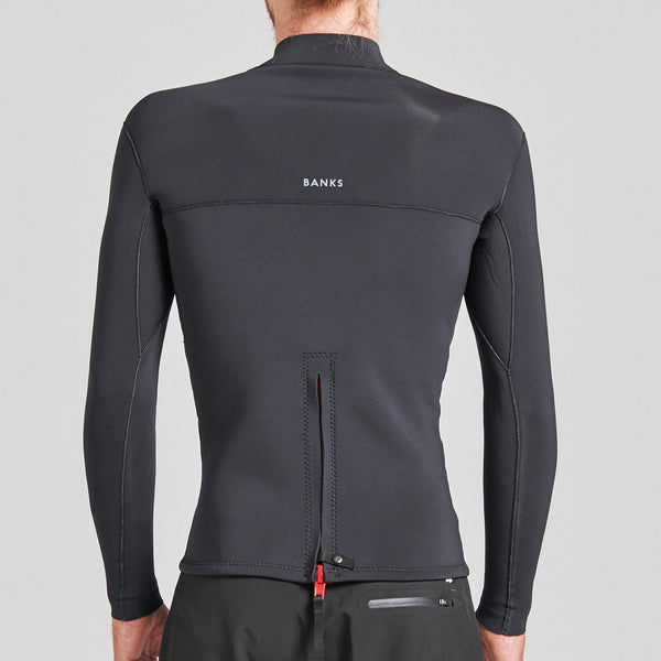Mens One Back Zip Jacket Wetsuit - BANKS JOURNAL Wetsuit