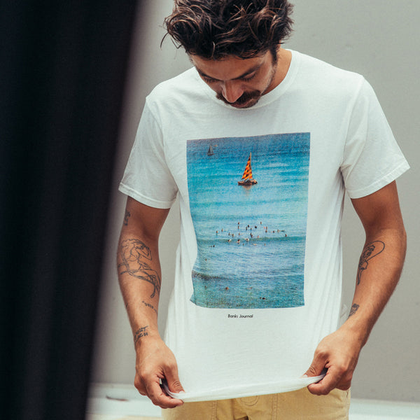 Mens Boats Tee Shirt - BANKS JOURNAL Tee Shirt