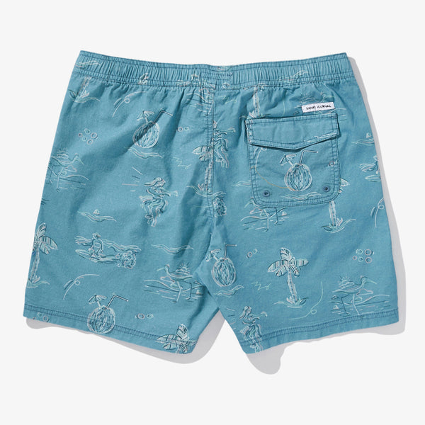 Mens Seaside Boardshort - BANKS JOURNAL Boardshort