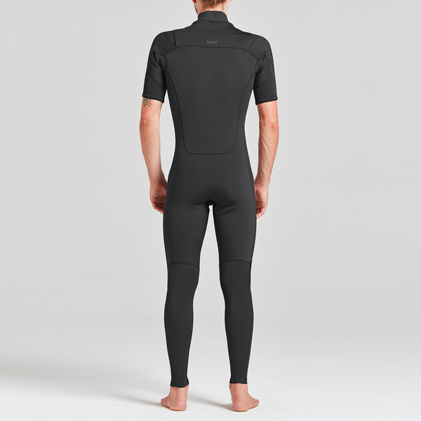 Mens Two Short Arm Steamer Wetsuit - BANKS JOURNAL Wetsuit