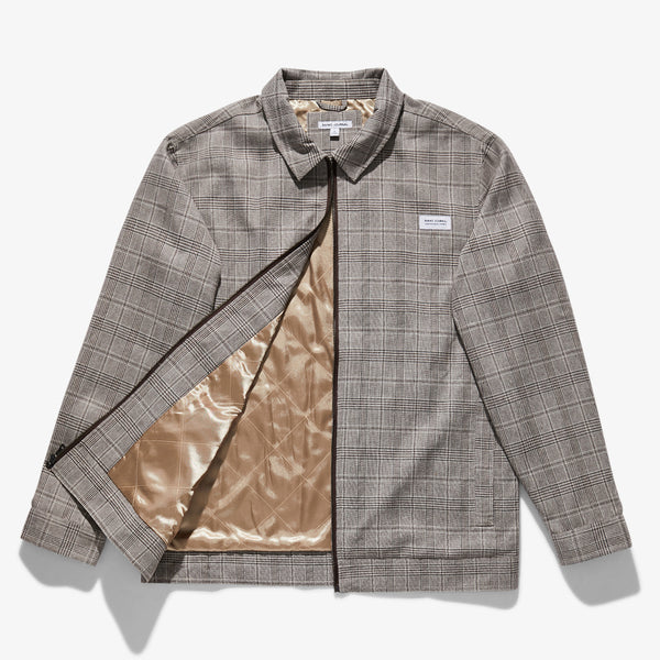 Mens Mosely Gingham Jacket - BANKS JOURNAL Jacket
