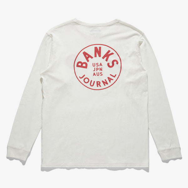 Mens Spinner Long Sleeve Tee - BANKS JOURNAL Long Sleeve Tees