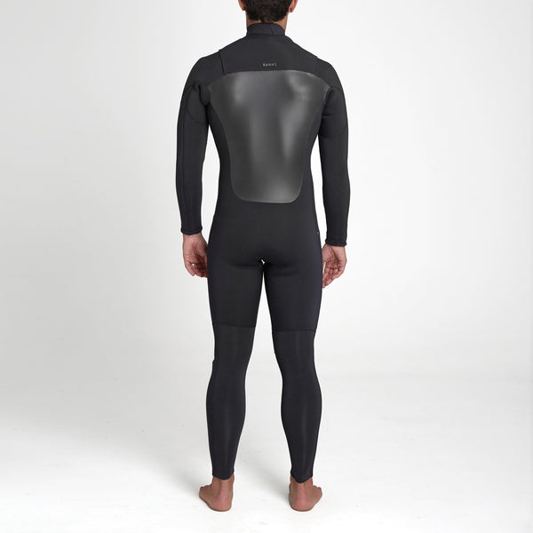 Mens Three Long Arm Steamer Wetsuit - BANKS JOURNAL Wetsuit