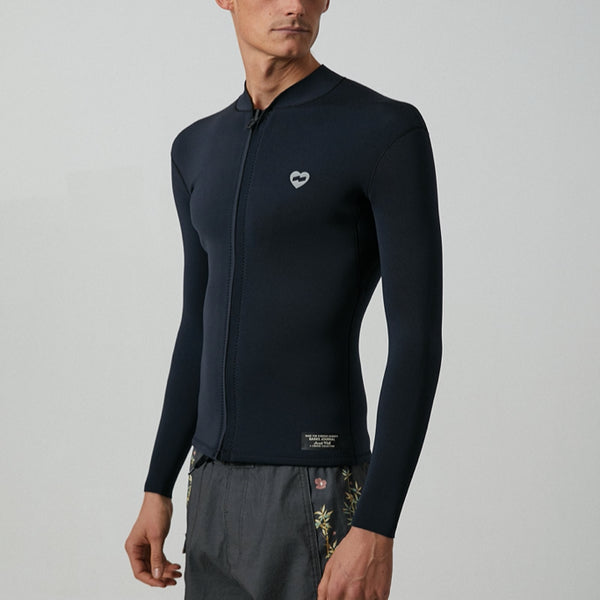 Mens Jared Mell Front Zip Wetsuit - BANKS JOURNAL Wetsuit